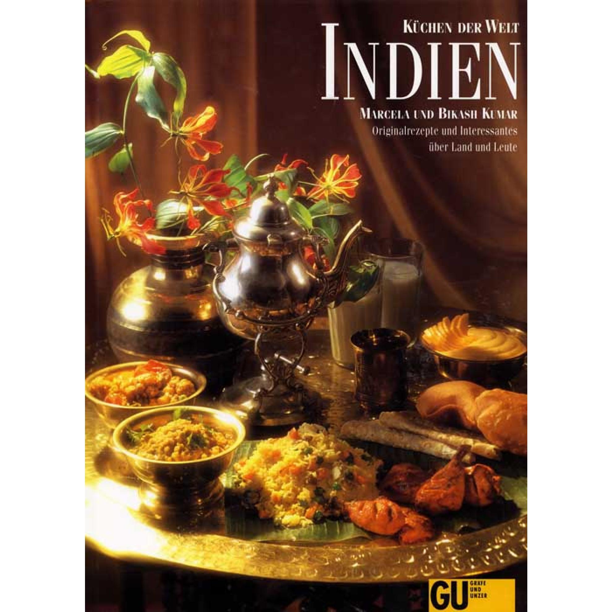 Küchen der Welt - Indien (Rezepte und Interessantes) Gebundene Ausgabe