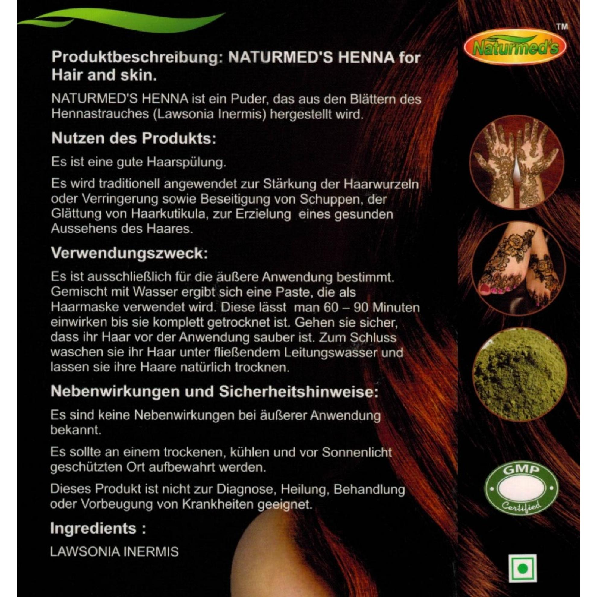Henna haare schadlich