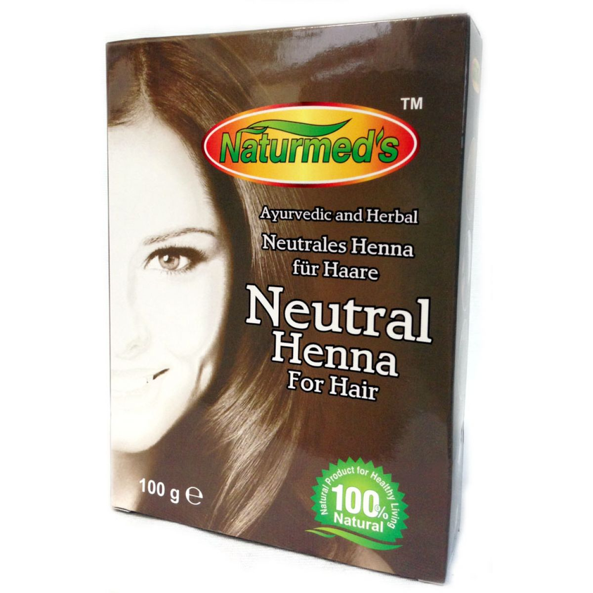naturmeds neutral henna f r die haare henna haarsp lung. Black Bedroom Furniture Sets. Home Design Ideas
