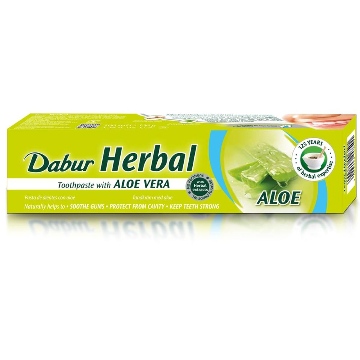 Dabur Herbal Toothpaste Aloe Vera (ayurvedische Zahncreme) 100ml