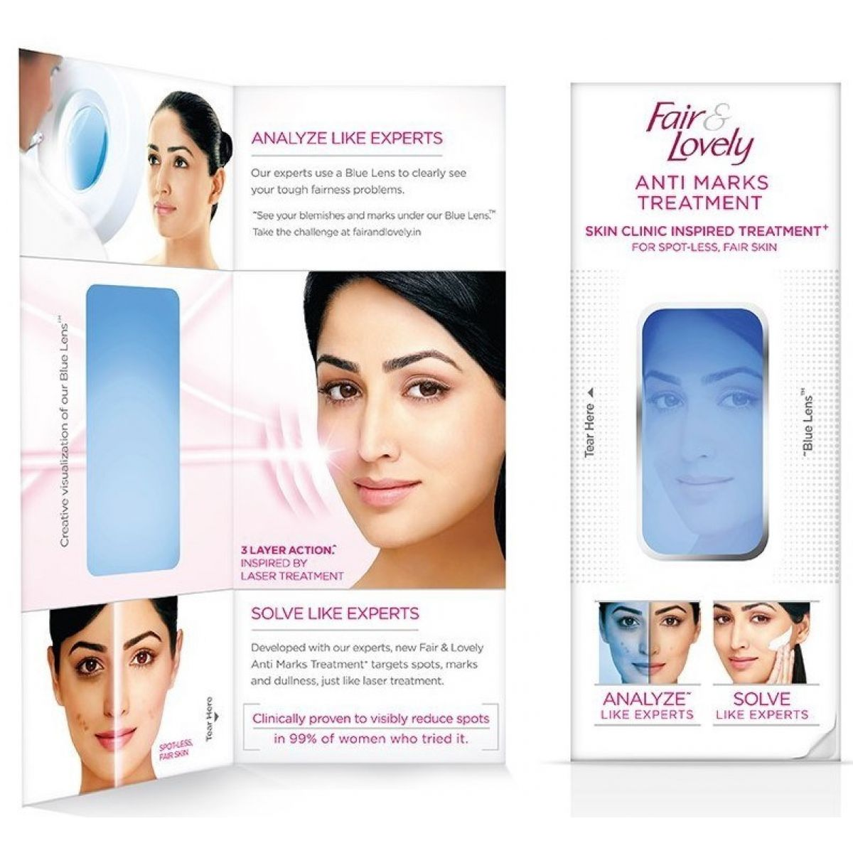 Fair & Lovely Anti Marks Treatment (Anti-Marks-Behandlung Gesichtscreme mit Hautaufhellung)