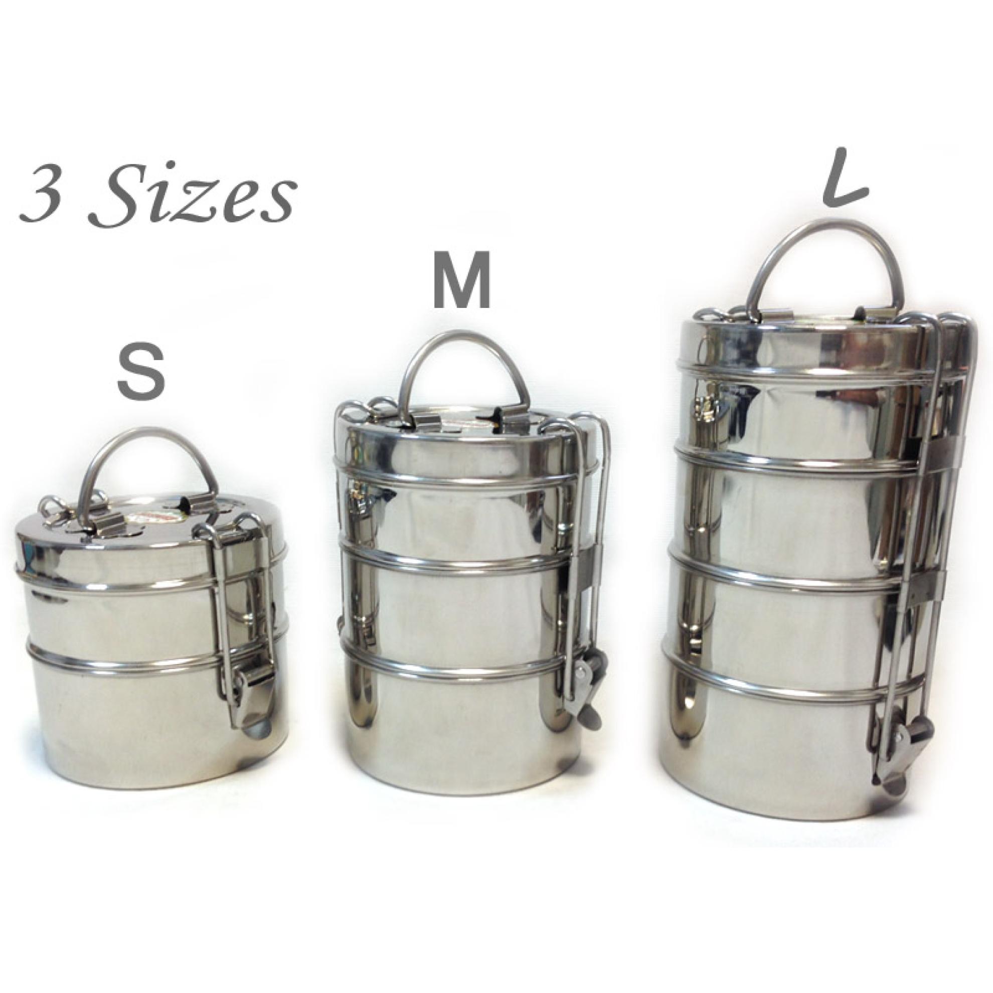 Tiffin-Box in 3 sizes