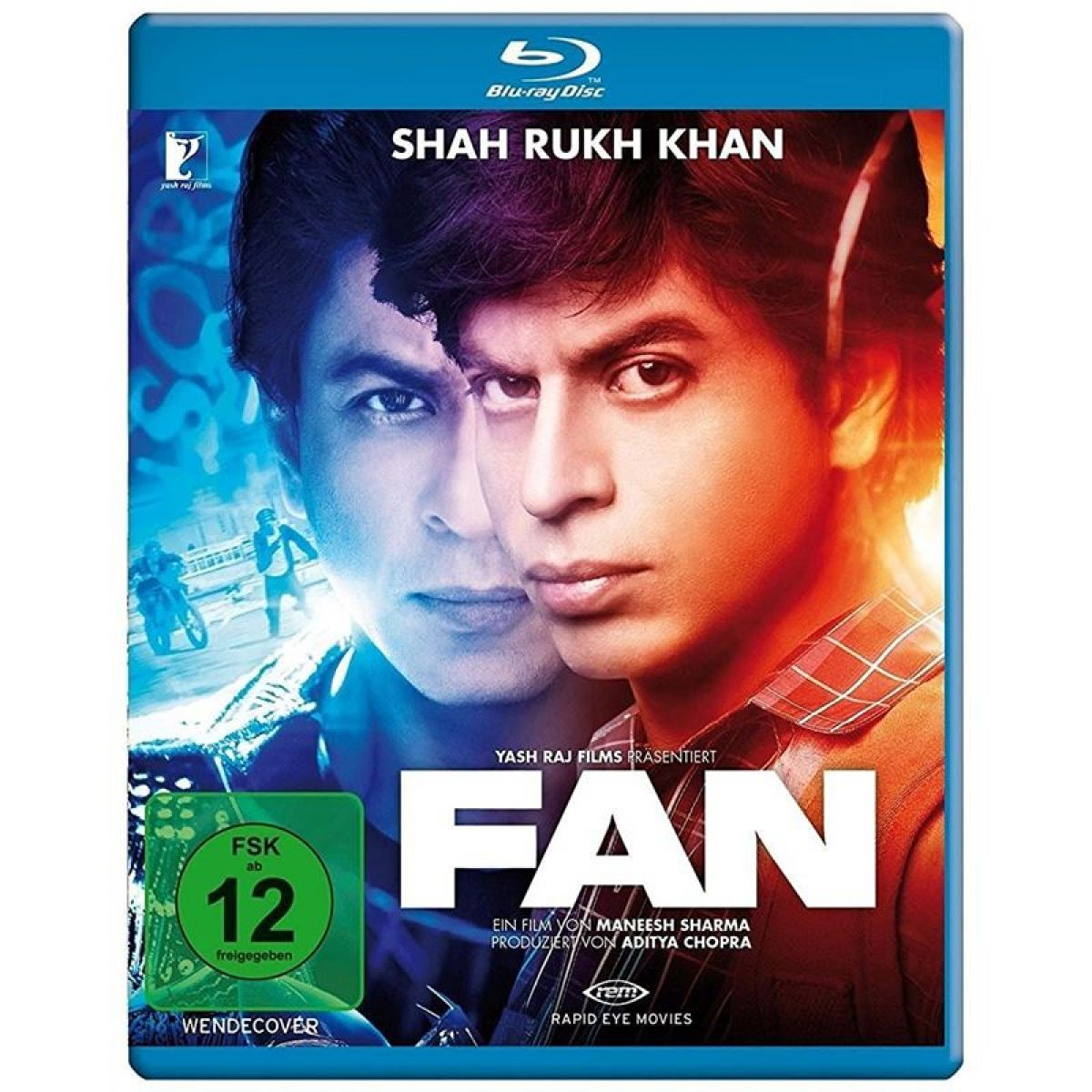 FAN - Bluray (Deutsche Sprache) Shahrukh Khan...