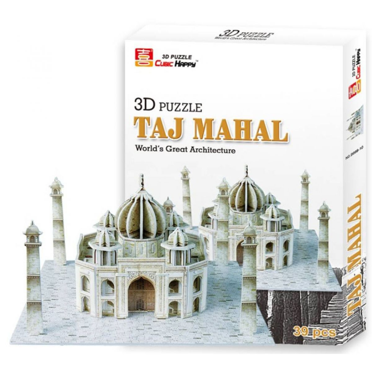 3d puzzle taj mahal aus styropor 39 teile. Black Bedroom Furniture Sets. Home Design Ideas
