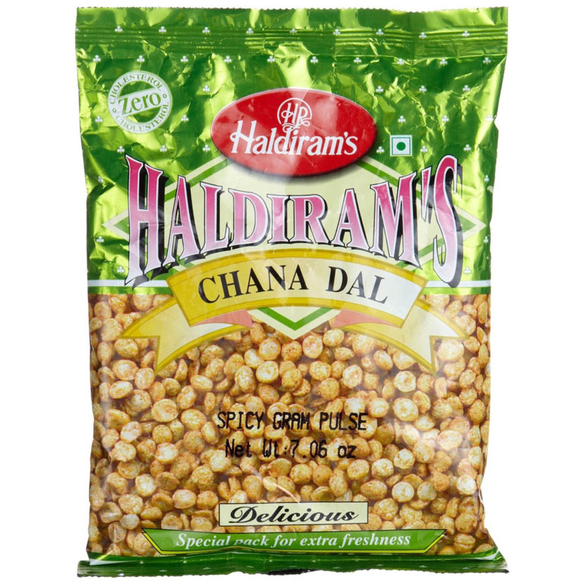 Haldiram Chana Dal (Spicy Fried Split Gram Pulse) 200g