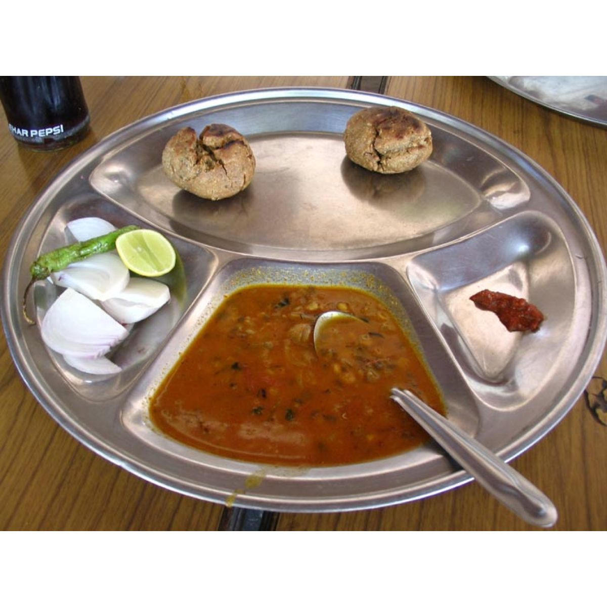 ... Thali - Stainless Steel Round Divided Dinner Plate 4 sections  sc 1 st  India Store & Thali - Tablet made of Stainless Steel