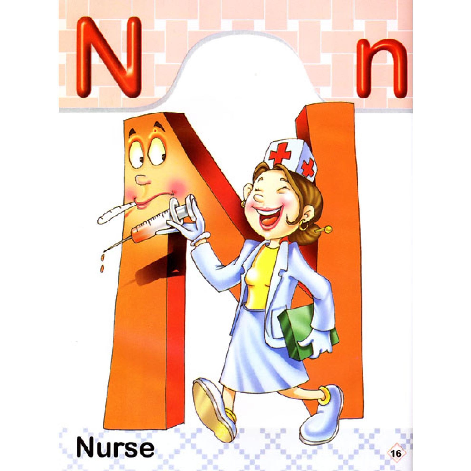 my friendly alphabet english alphabet picture book animals