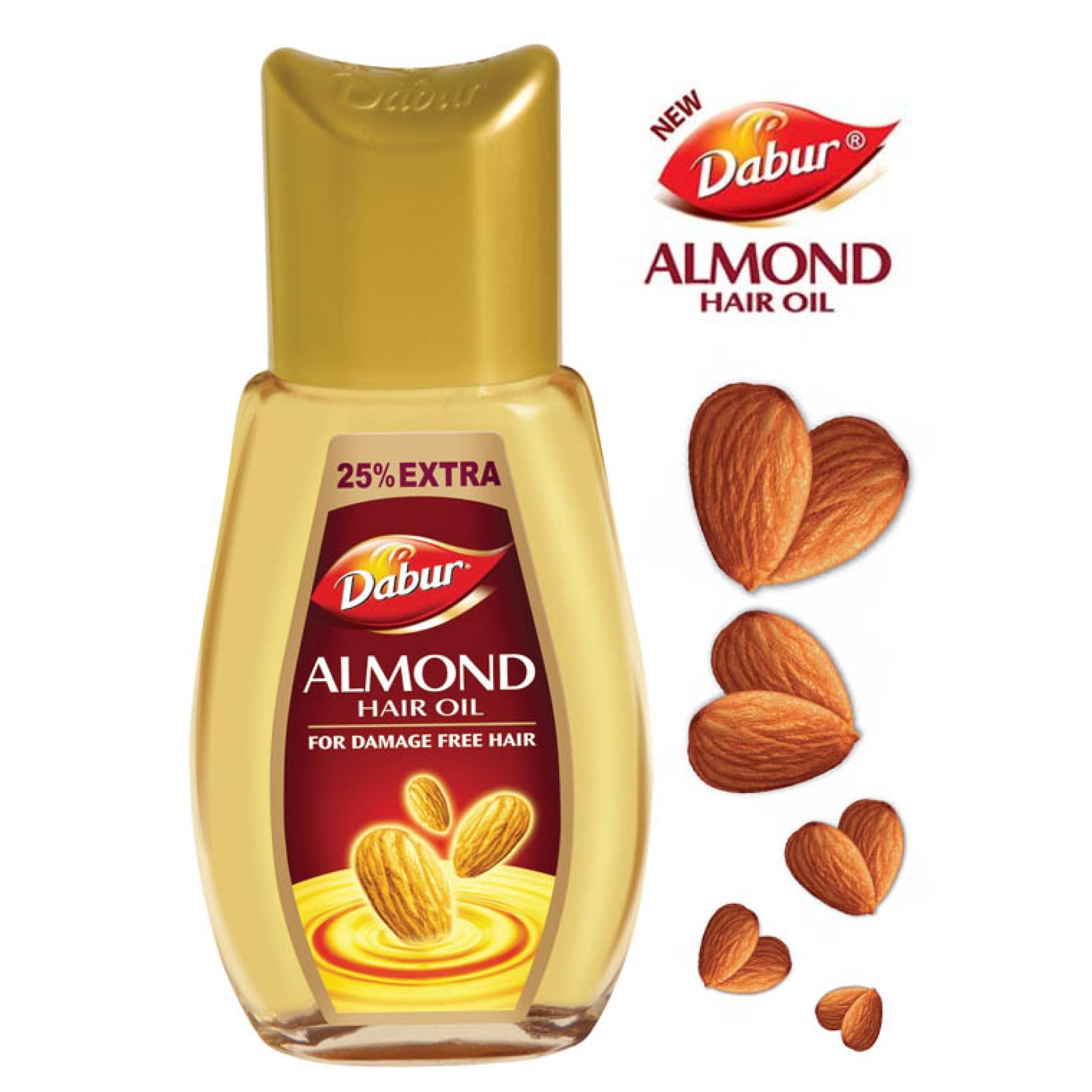 Almond oil for hair