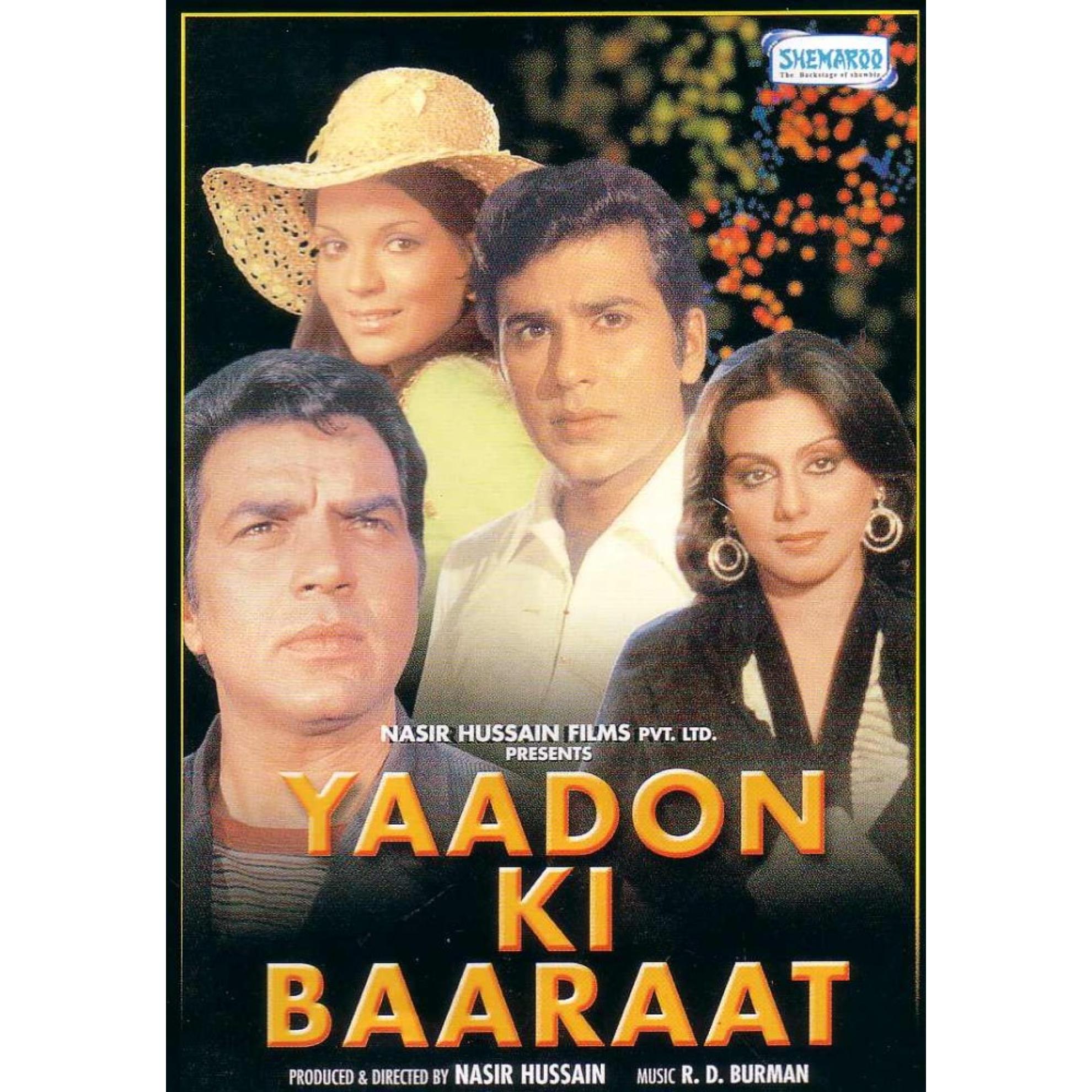 Yaadon Ki Baarat  DVD   Yaadon Ki Baaraat Poster